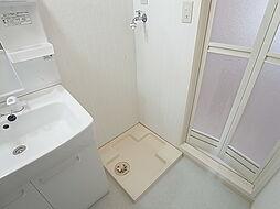 ユメノサニーハイツの室内洗濯機置き場