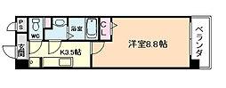 グランシャリオモア[3階]の間取り