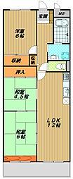 サンハイツ大塚[5階]の間取り