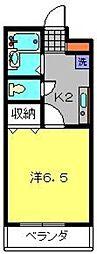 Mgrandeur[305号室]の間取り