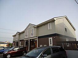 新潟県三条市荒町2丁目の賃貸アパートの外観