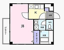 東京都三鷹市上連雀9丁目の賃貸アパートの間取り