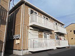 埼玉県三郷市戸ケ崎4丁目の賃貸アパートの外観