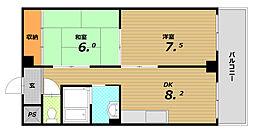 メゾン山手台[3階]の間取り