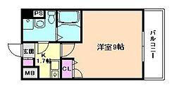 エスリード福島駅前第2[6階]の間取り