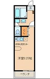S Clail (エスクレイル)[1階]の間取り