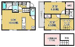 [テラスハウス] 東京都杉並区荻窪1丁目 の賃貸【/】の間取り