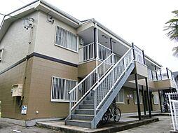 愛知県額田郡幸田町大字菱池字前田の賃貸アパートの外観