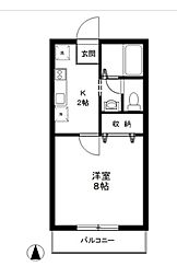ギャラリー2133[1階]の間取り
