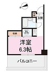 ドルミ五反田アンメゾン[5階]の間取り