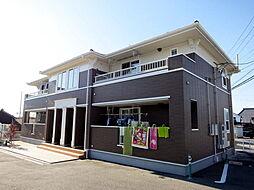 愛知県岡崎市岡町字落合の賃貸アパートの外観