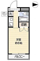 ジョイフル浦和[3階]の間取り