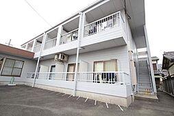 愛知県豊橋市弥生町字西豊和の賃貸アパートの外観