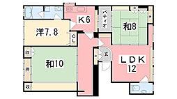 福沢町[2階]の間取り