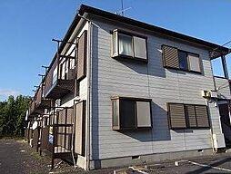 神奈川県横浜市青葉区あざみ野3丁目の賃貸アパートの外観