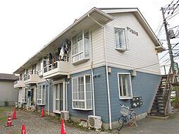 神奈川県座間市ひばりが丘3の賃貸アパートの外観