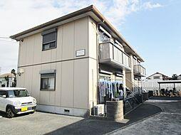 神奈川県高座郡寒川町小動の賃貸アパートの外観