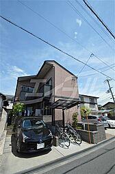 大阪府箕面市桜4丁目の賃貸アパートの外観