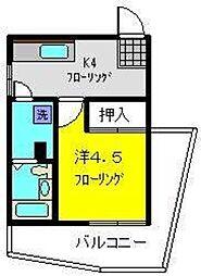 丸松ビル[5階]の間取り