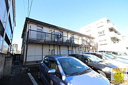 千葉県市川市行徳駅前2丁目の賃貸アパートの外観
