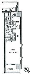 クリオ五反田[15階]の間取り