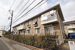 千葉県船橋市古作3丁目の賃貸アパートの外観