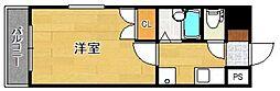 リファレンス県庁口[508号室]の間取り