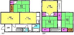 [一戸建] 兵庫県高砂市米田町米田 の賃貸【/】の間取り