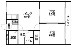 Fineマンション[3階]の間取り