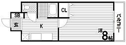 レジデンス妙法寺[5階]の間取り