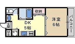サンライズヤマウチ[5階]の間取り