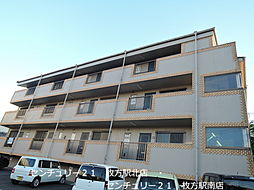 大阪府枚方市長尾台4丁目の賃貸マンションの外観