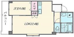 (仮称)箱崎1丁目新築マンション[302号室]の間取り