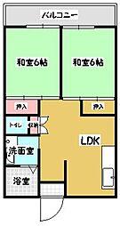 フィールド南福岡[301号室]の間取り