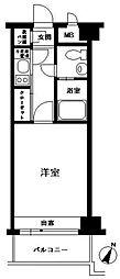 エステート・モア平尾山荘通り[202号室]の間取り