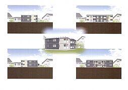 仮)野芥4丁目新築オートロック付アパート[102号室]の外観