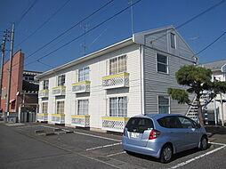 栃木県小山市東城南2丁目の賃貸アパートの外観