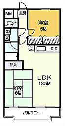グリーンヴァレー松澤[5階]の間取り