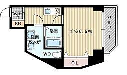 セントアミー新大阪北[4階]の間取り