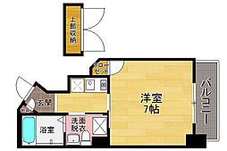 ダイナコート六本松V[7階]の間取り