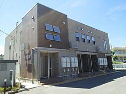 富山県富山市山室荒屋の賃貸アパートの外観