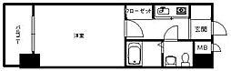 エステート・モア・箱崎II[402号室]の間取り