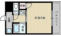 グランフォーレ21[4階]の間取り