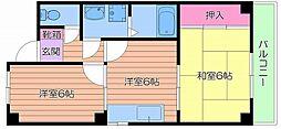 フィールズ田中I[3階]の間取り