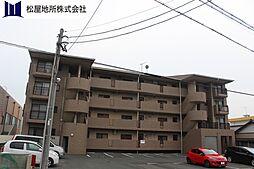 愛知県豊橋市西岩田1丁目の賃貸マンションの外観
