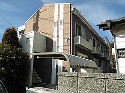 千葉県柏市かやの町の賃貸アパートの外観