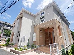小田急小田原線 本厚木駅 バス14分 上高坪下車 徒歩7分の賃貸アパート
