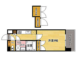 No87 MARIAGE STATION[7階]の間取り