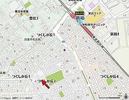 千葉県柏市つくしが丘3丁目の賃貸アパートの外観