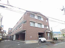 大阪府箕面市稲1丁目の賃貸アパートの外観